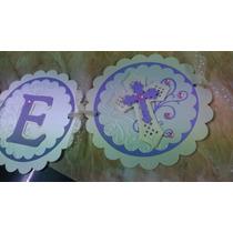Banner, Banderin Para Fiestas, Personalizado Scrap