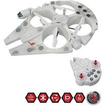 Star Wars Millennium Falcon Dron Control Remoto Disney Nave