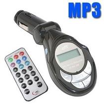 Transmisor Fm 3 En 1 Para Carro Control Usb Ipod Mp3 Sd