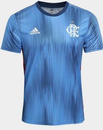 Camisa Do Flamengo Nova Azul Masculina Mengão Frete Original - R  169 a013d2ba25ea5