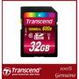 Memoria Transcend Sd 32 Gb Class10 Súper Rápida 600x