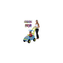 Carro Roller Baby Versátil Monsters Azul 1038 Magic Toys