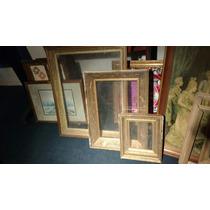 Juego De 3 Marcos Con Vidrio Tipo Caja De L Antiguos Vintage