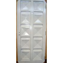 Puerta Chapa Simple Reforzada 80*200 Ciega Blanco
