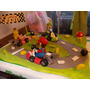 Super Mario Kart En Porcelana Fria Para Tu Torta