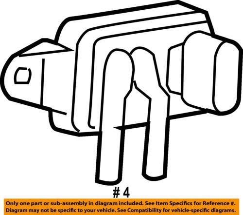 Ford Oem Egr Sensor De Posicin De Vlvula F77z9j460ab