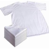 Kit 20 Camisetas Infantil Para Sublimação 100% Poliester
