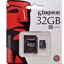 Cartão Memória Micro Sd 32gb Kingston Lacrado Original