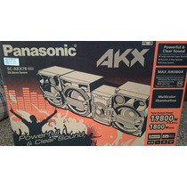 Equipo De Sonido Panasonic Akx-78 Nuevo