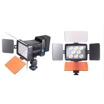 Lámpara De Vieo De 8 Leds Con Pinacle 20 Regalado Y Batería