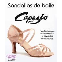 Zapatillas De Salsa Capezio Para Danza De Salon Originales