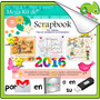 Cd Mega Pack Con 24.000 Plantillas Scrapbook Decoupage Y Mas
