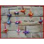 Pajaritos Tejidos Al Crochet - Pack X 10 - Ideal Souvenirs