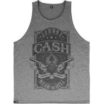 Regata Johnny Cash Camiseta Blusa Moletom Banda Rock Country