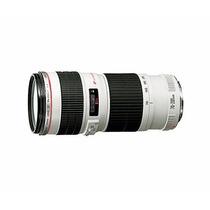 Lente Ef 70-200mm F/ 4l Usm Garantia 1 Ano Canon