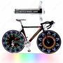 Pito De Led Acessório P Bicicleta 42 Efeitos Válvula P Raios