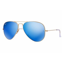 Ray Ban Aviator Azul - The Flash Lenses Edition (original)