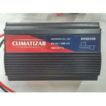 Inversor Climatizar 300w 24vdc P/ 110vac Tomada E Usb