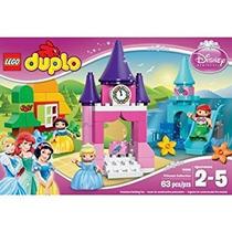 Juguete Lego Duplo Niños Set De Juego De Princesa De Disney