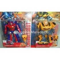 Robot Transformers De 17 Cm Aprox. * Somos Tienda Física *