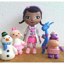 Personajes Infantiles En Masa Flexible Para Tope De Torta