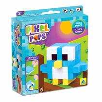 Pixel Pops :: Blue Bird - Didáctico De Foamy Para Armar
