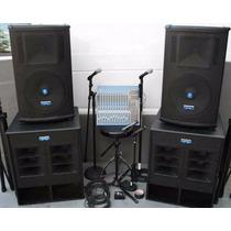 Curso Sonorização Igrejas E Auditórios + Projeto De Caixas