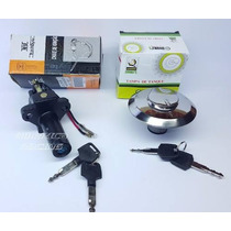 Kit Chave Ignição Cbx 250 Twister Tampa Tanque Chave Contato
