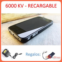 Taser Iphone Stun Gun Paralizador Lámpara Recargable Regalos