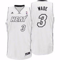 Camiseta Adidas Nba Miami Heat 3 Dwyane Wade New Revolution