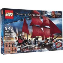 Lego 4195 Queen Anne´s Revenge Piratas Del Caribe Barco