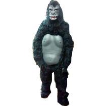 Fantasia Mascote Gorila Assustador Macaco