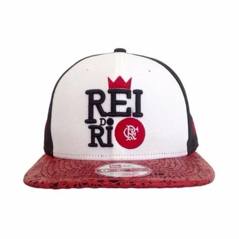 Boné Flamengo Rei Do Rio 950 Oficial New Era - R  165 f9b857c6eaf