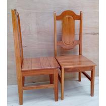 Cadeira P/ Mesa De Cozinha Em Madeira Maciça Angelim Pedra