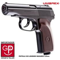Pistola Co2 Legends Makarov Full Metal 4.5 Mm