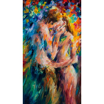 Impresion En Lienzo The Last Kiss Por Leonid Afremo