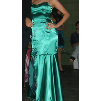 Vestido Fiesta Talle M. Con Ballenitas. Precioso
