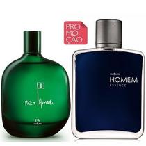Deo Parfum Natura Homem Essence 100ml + Paz E Humor 75ml