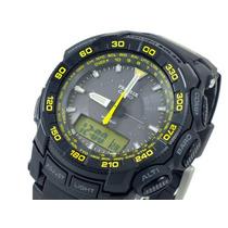 Reloj Casio Protrek Prg550-1a9 Solar Triple Sensor 5 Alarmas