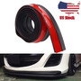Universal Car Front Rear Bumper Skirt Rubber Protector Lip
