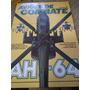 2 Livros Aviões De Combate -ah-64 E Migs -impecáveis
