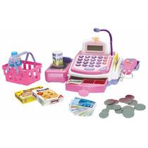 Caixa Registradora Rosa Pink Infantil Bee Me C/ Som E Luzes