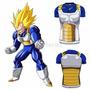 Rashguard Compressão Dragon Ball Vegeta Bodybuilding Mma