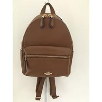 Backpack Mini Mochila Coach Original Coach Y Mk 100%