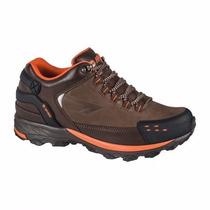 Zapato Tenis Piel Hiker Outdoor Todo Terreno Campismo Montañ