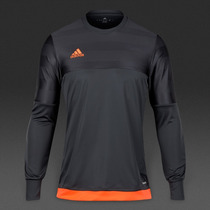 Jersey De Portero Adidas Negro. Envío Gratis !