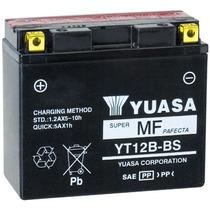 Bateria Yuasa Yt12b-bs / Yt12b-4 Honda Yamaha Distri Oficial