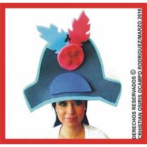 Sombrero Espuma Pirata Boda Fiesta Xv Dj Lentes Peluca