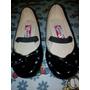 Zapato Patentes Negros De Niña