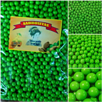 Chocoretas Confitadas Verdes. Dulces, Fiestas, Reventa.